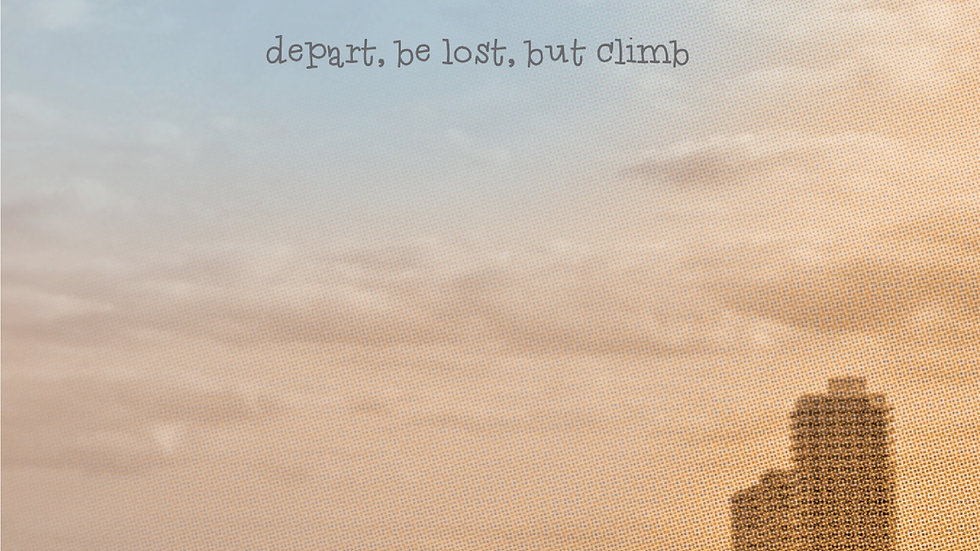 "Album ""Depart, be lost, but climb"""