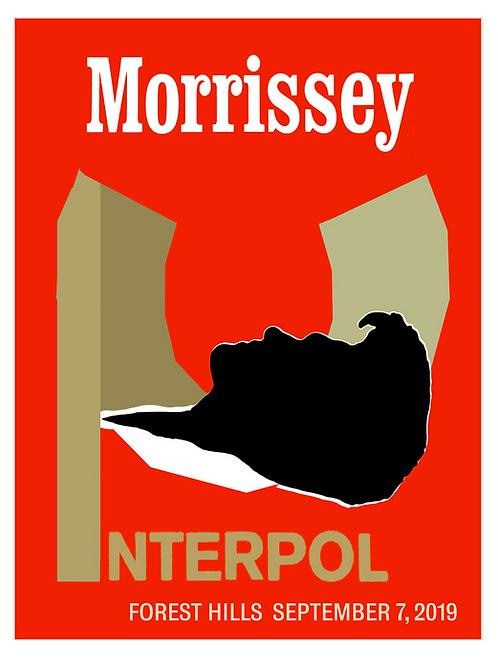 Morris & Interpol Poster
