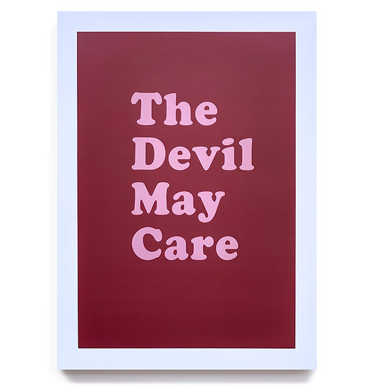 THE DEVIL MAY CARE Aaron McElroy