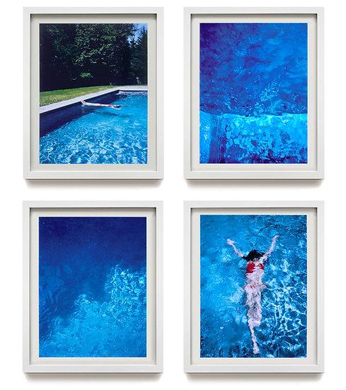 CHARLES JOHNSTONE :  framed prints fromThe Summerhouse Pool