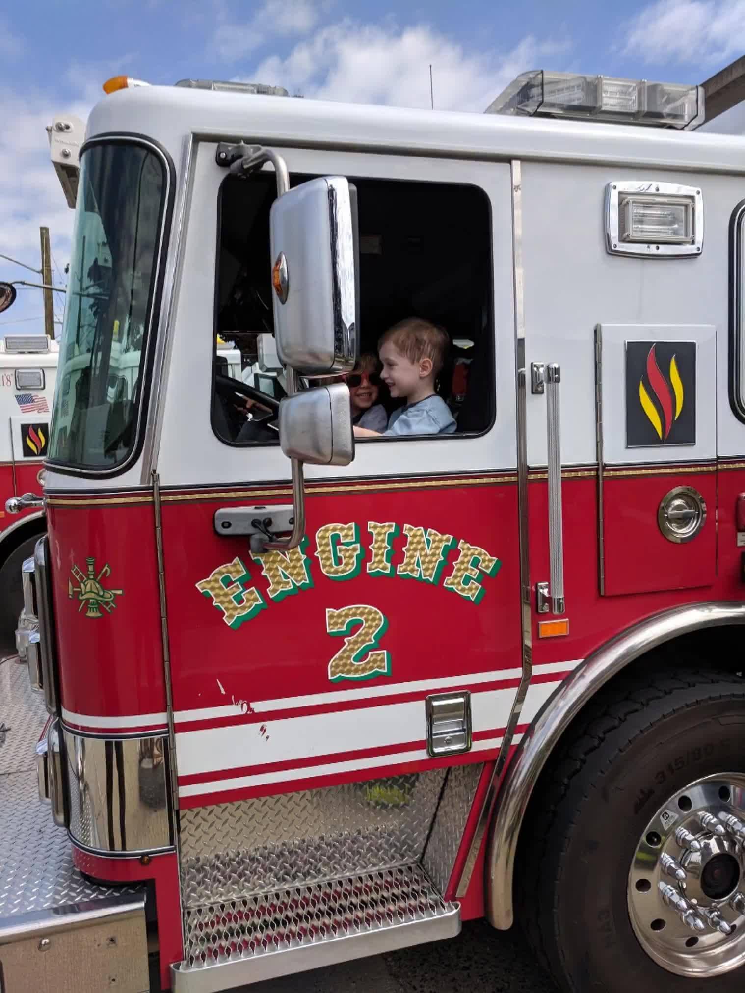 I to I fire station visit!
