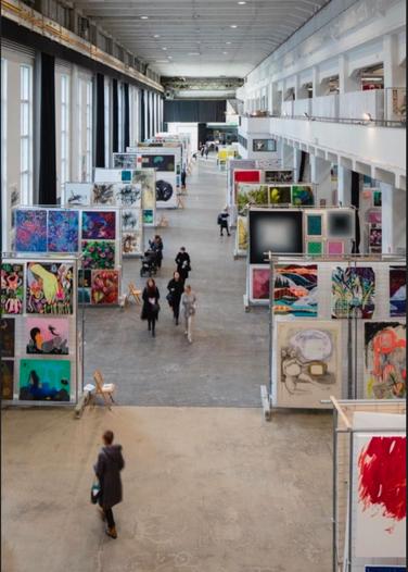 Taidemaalariliiton Teosvälitys 2021 exhibition