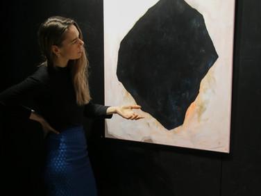 Hundratals hav// Exhibition at Black Wall Gallery in Vasa