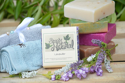 Lavender All Natural Handmade Bar Soap