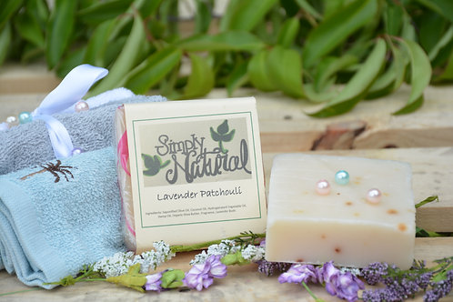 Lavender Patchouli All Natural Handmade Bar Soap