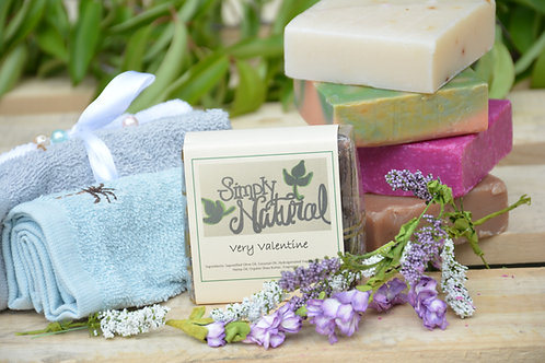Very Valentine All Natural Handmade Bar Soap