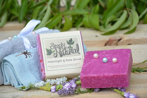 Moonlight Roses Scrub Soap