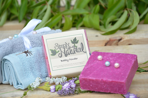 Baby Powder All Natural Handmade Bar Soap