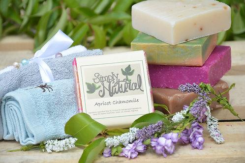 Apricot Chamomile All Natural Handmade Bar Soap