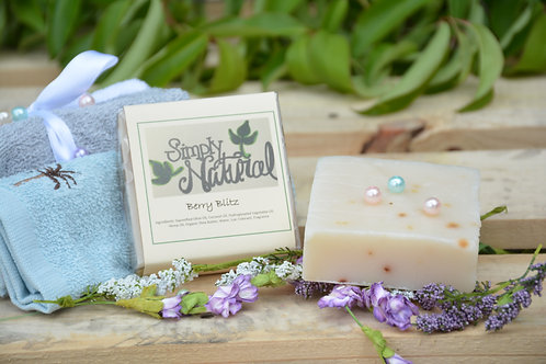 Berry Blitz All Natural Handmade Bar Soap