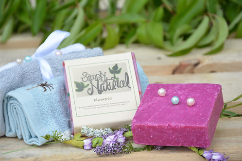 Plummeria All Natural Handmade Bar Soap