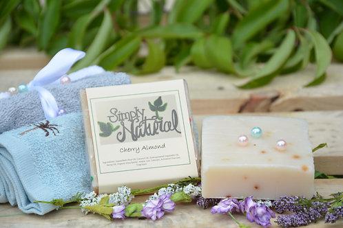 Cherry Almond All Natural Handmade Bar Soap