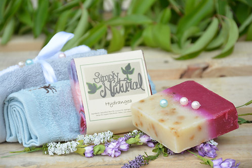 Hydrangea All Natural Handmade Bar Soap