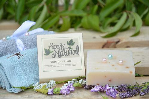Eucalyptus Aloe All Natural Handmade Bar Soap