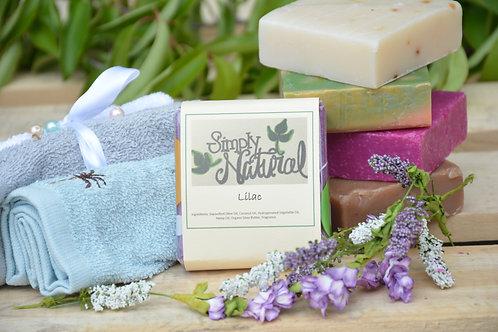 Lilac All Natural Handmade Bar Soap