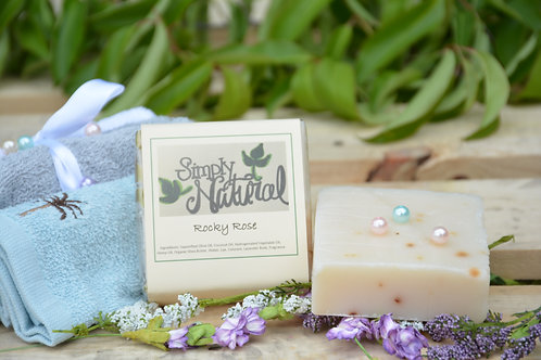 Rocky Rose All Natural Handmade Bar Soap