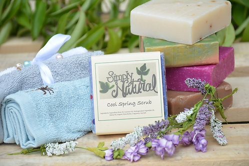 Cool Spring Scrub Soap