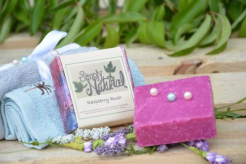 Raspberry Rush All Natural Handmade Bar Soap