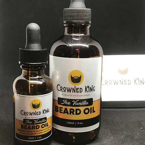 4oz. Vanilla Beard Oil