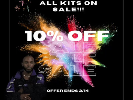 ALL KITS ARE 10% off!!!
