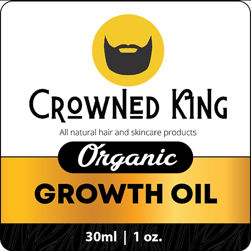 1oz. Organic Growth Oil