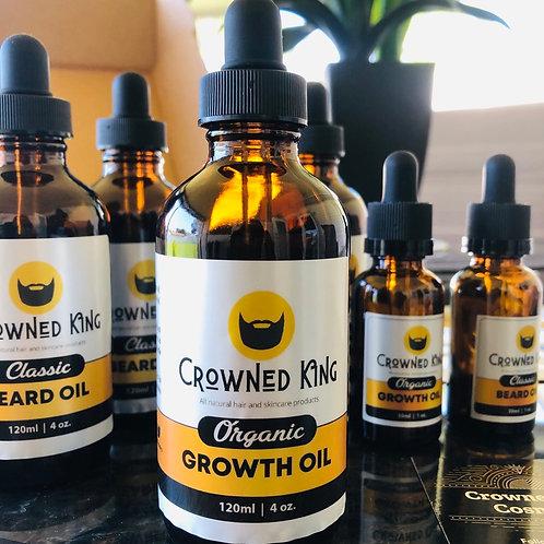 4oz. Organic Growth Oil