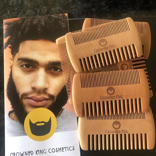 Custom beard comb