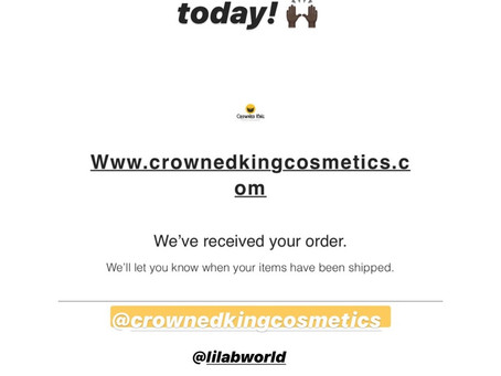 Another happy customer! Follow @frecklefacejr on IG and show this Crowned King some love ✊🏽👑