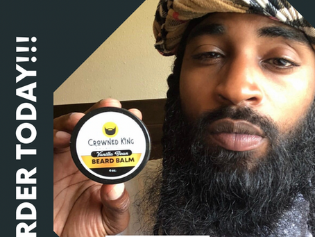 Try out our Vanilla bean beard balm!!!