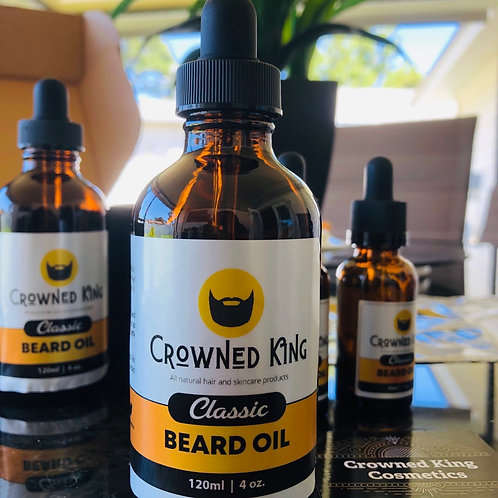 4oz. Classic Beard Oil