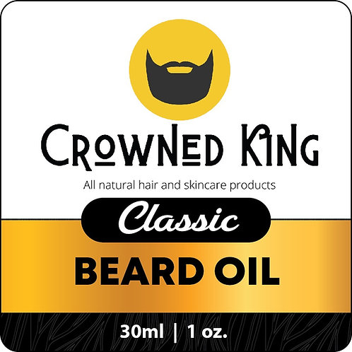 1oz. Classic Beard Oil