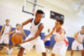 Jugend Basketball Spiel