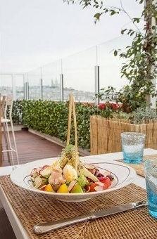 aménagement végétaux sur terrasse