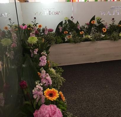 salons fleurs fraîches