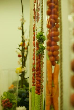 tube et fruits décoration Location de plantes à Paris st thibault