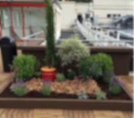 jardins terrasse à Paris