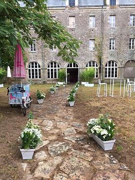 Décor jardin-guérande-chateau