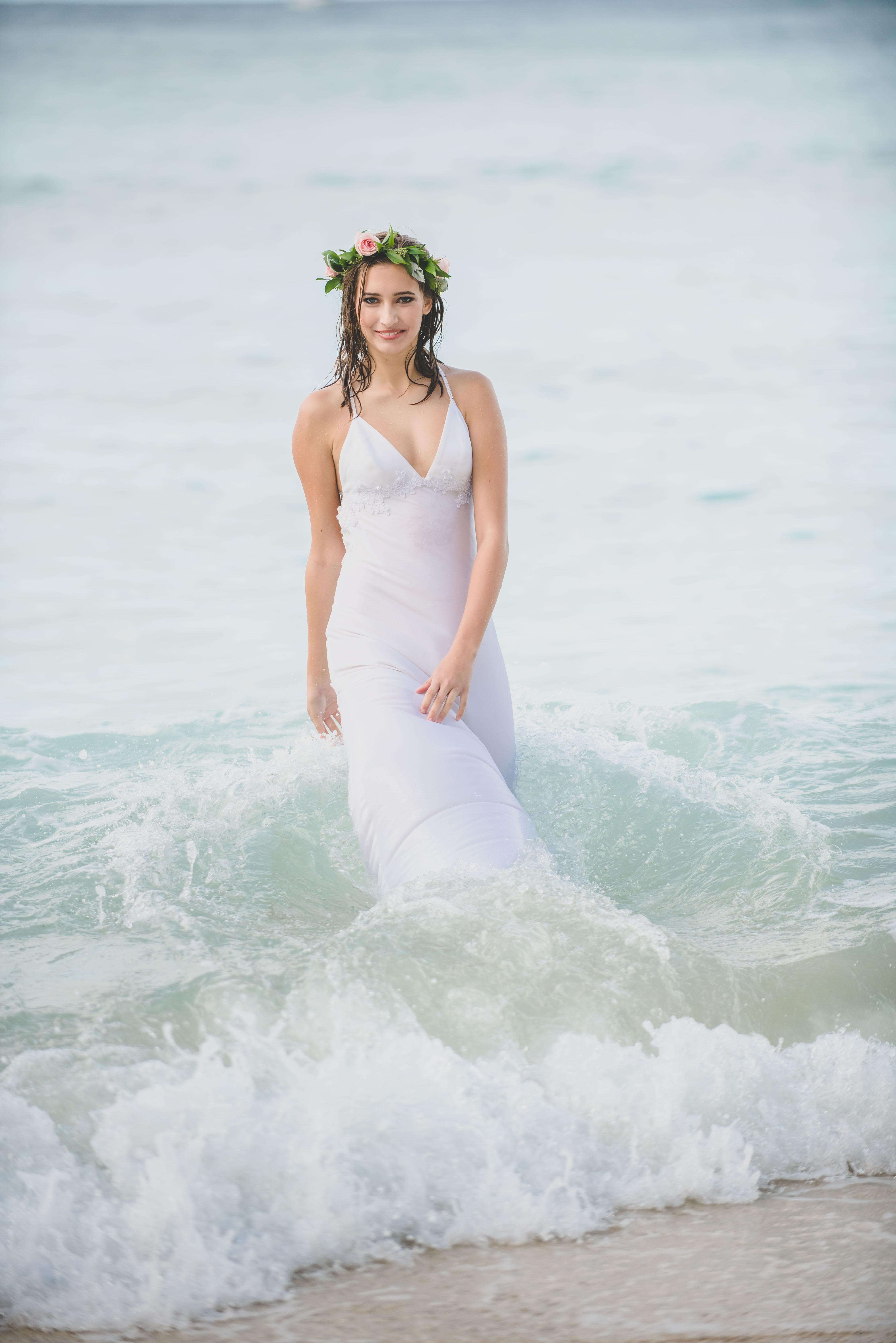 Hawaiian bride