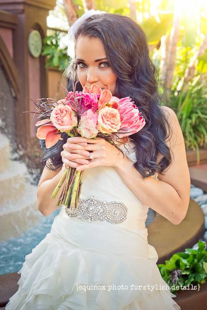 bridal hair makeup San Diego wedding