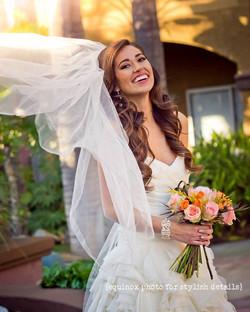 San Diego Wedding Style Hair Makeup
