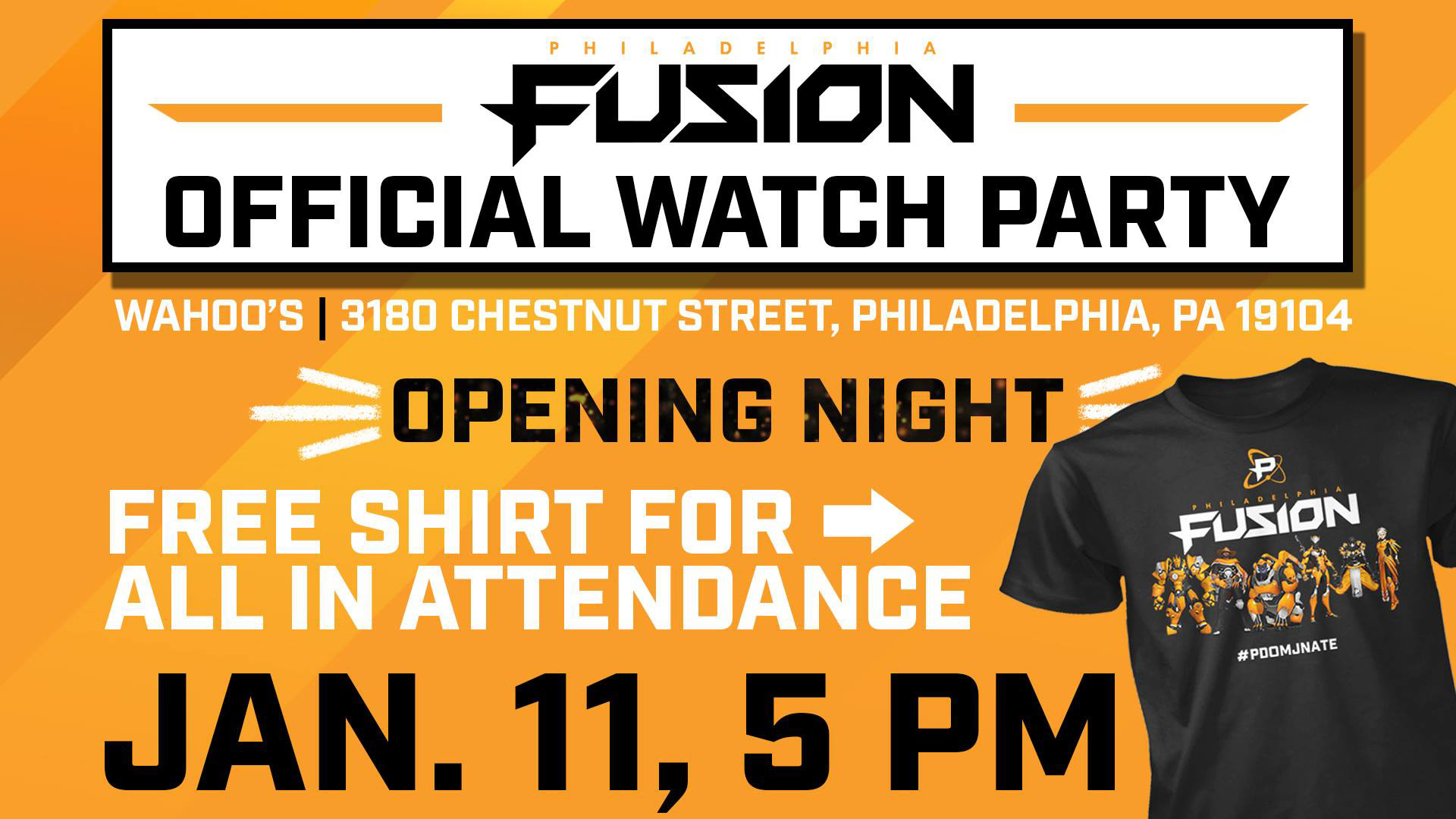 Fusion Watch Party Ad