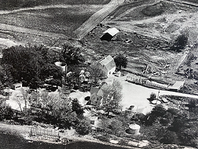 Villwok Homestead picture taking in 1960