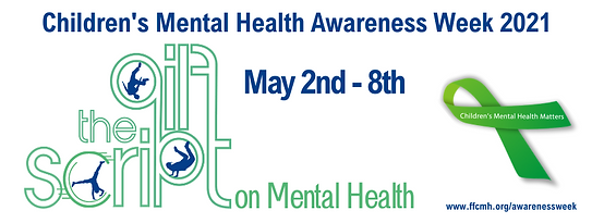Children's Mental Health Awareness 2021 Facebook Cover Image