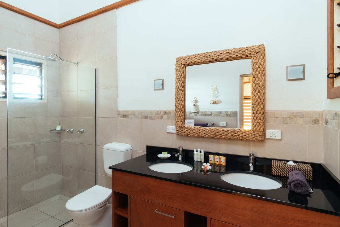 Exquisite bathroom facilities