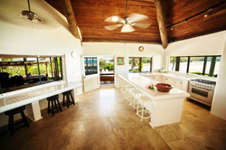 Picturesque kitchen facility