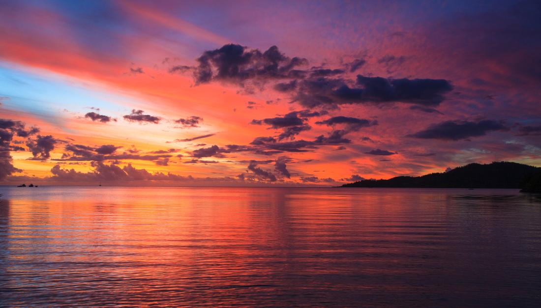 Stunning sunset views