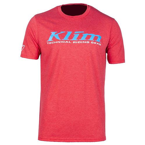 Klim K-Corp T-Shirt RED FROST VIVID BLUE, MMD ADVENTURES, 3852 Ringgenberg, Schweiz