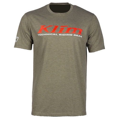 Klim K-Corp T-Shirt Military Green Hi Risk red, MMD ADVENTURES, 3852 Ringgenberg, Schweiz