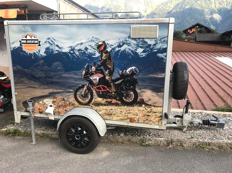 Motorrad Anhänger Vermietung