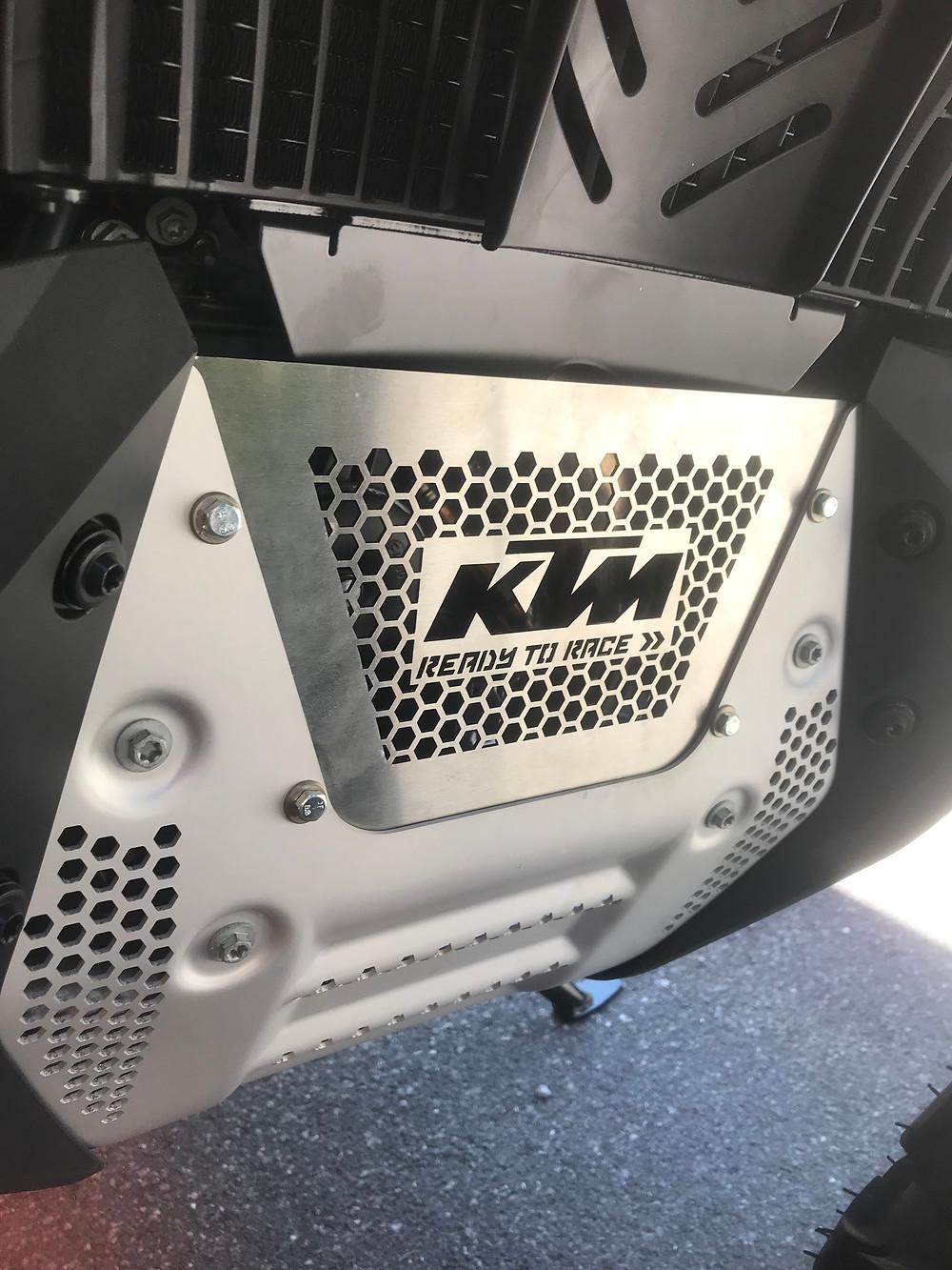 KTM 790 Adventure Crap Flap Joel Moreira Vit Garage Portugal
